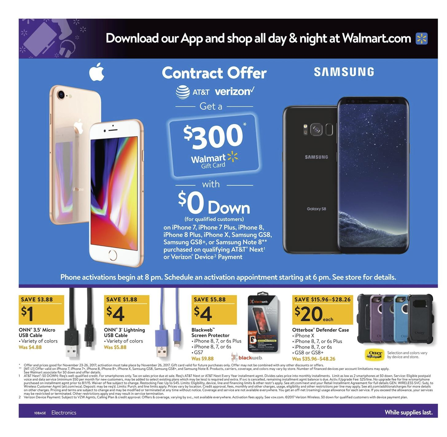 Walmart Iphone  Plus Black Friday Deal