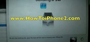 Unlock an Apple iPhone 2G or 3G