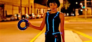 Make Your Own Tron Costume With Electroluminescent Wire
