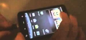 Install a custom ROM on a rooted HTC Incredible smartphone