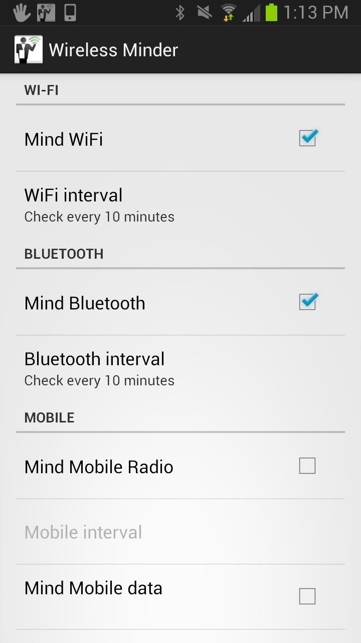 How to Extend Battery Life by Seamlessly Managing Wireless Radio Connections on Your Samsung Galaxy S3