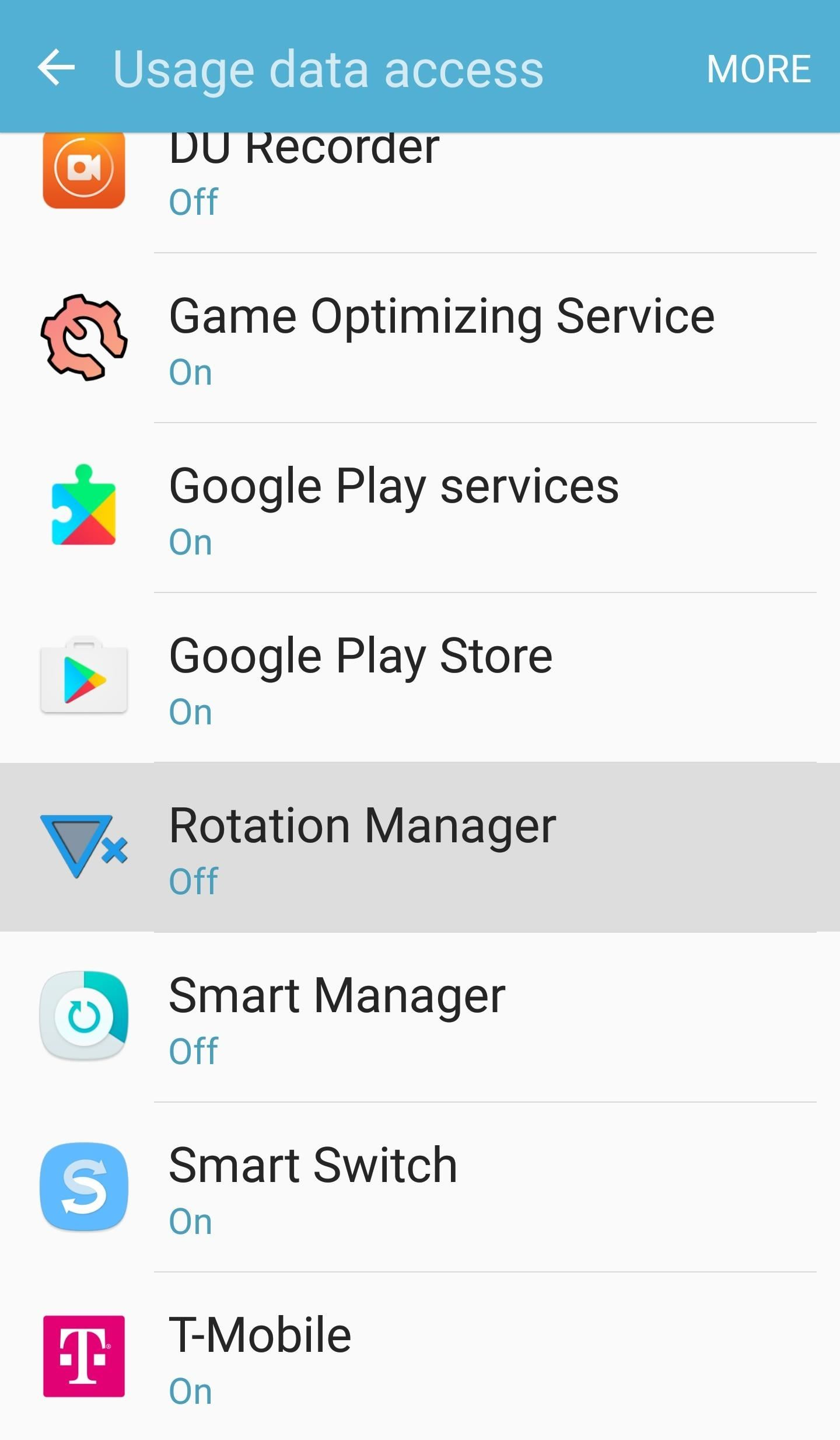 Control Screen Rotation for Individual Android Apps—No Root