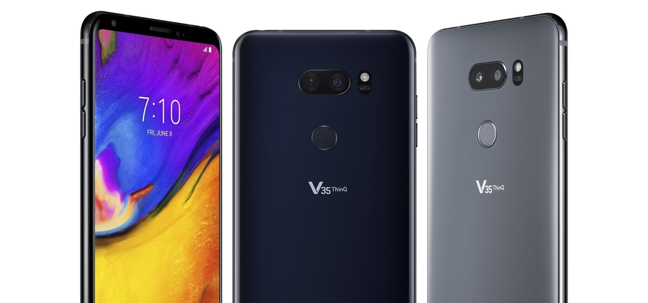 The LG V35 ThinQ Will Come with a Hefty Price Tag « Android
