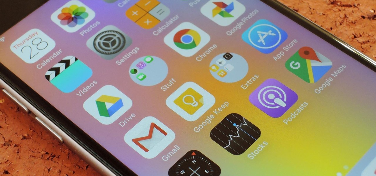 Get Circular Folders on Your iPhone's Home Screen