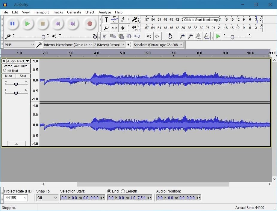 download free audacity for windows 10