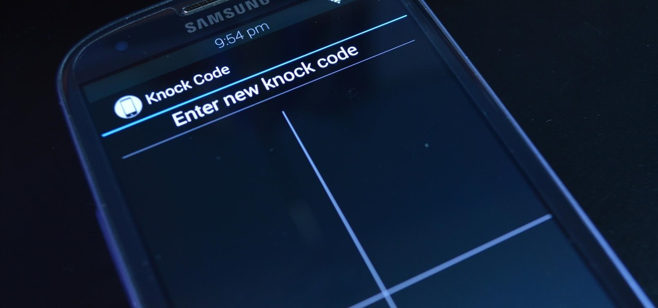 "Get LG's ""Knock Code"" Feature on Your Galaxy S3 for Increased Lock Screen Security"