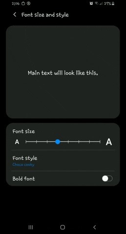 How to Get Custom Fonts in Samsung Messages