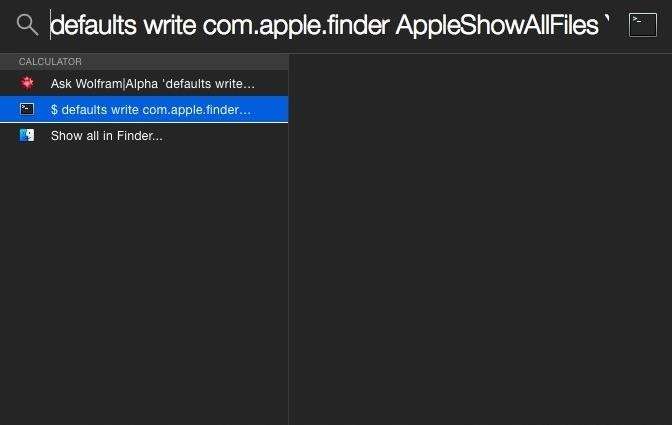 Flashlight Makes Spotlight Search Look for Anything You Want in Yosemite