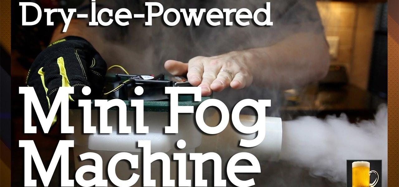 fog machine hacks
