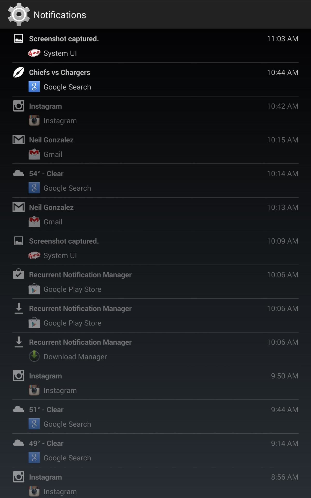 "How to Unlock the Hidden ""Notification History"" Feature on Your Nexus 7 Tablet"