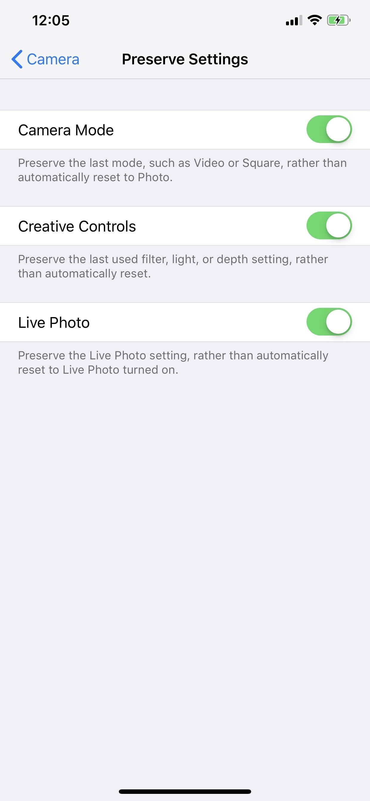 How to save the last-used camera settings on your iPhone to be ready the next time you turn it on Take a photo or video