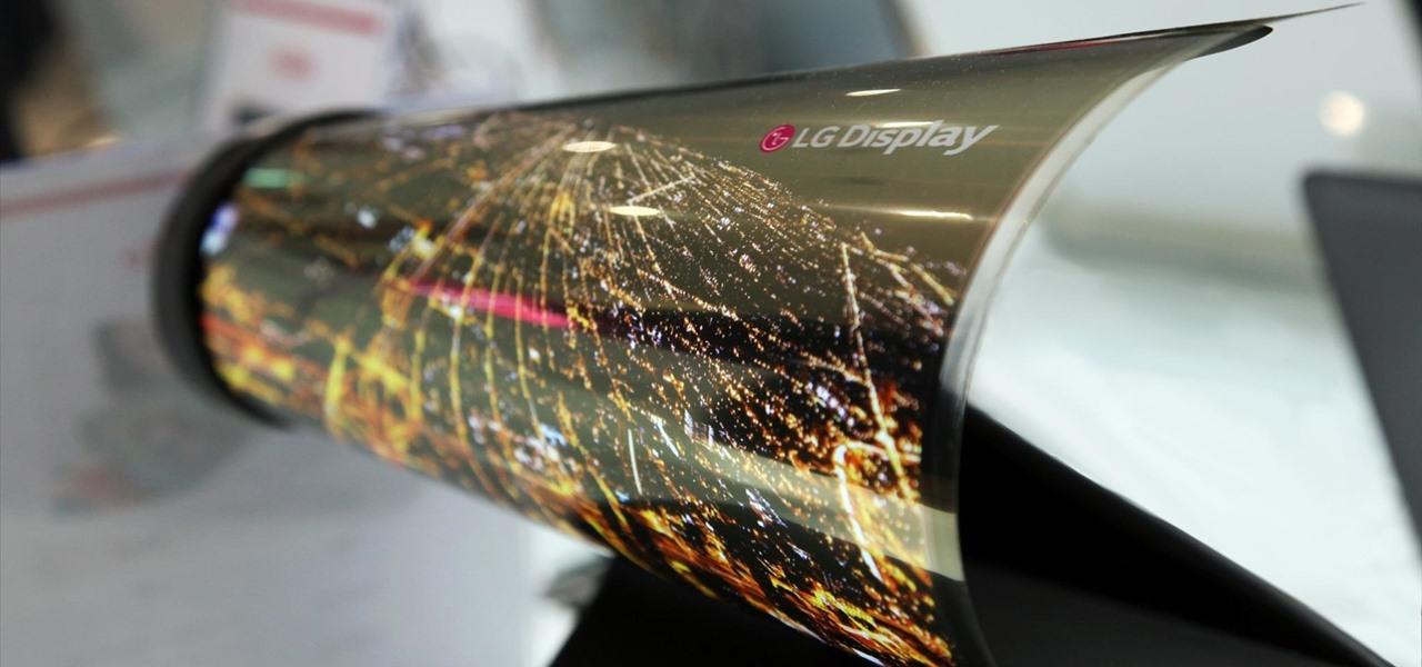 LG Shows Off Its Newspaper-Like Flexible Screen