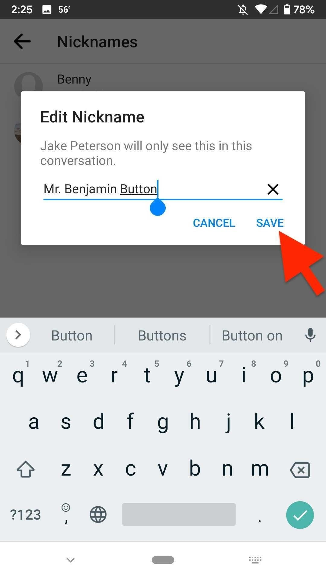 How to Set & Remove Nicknames in Facebook Messenger Chats for More Personalized Conversations