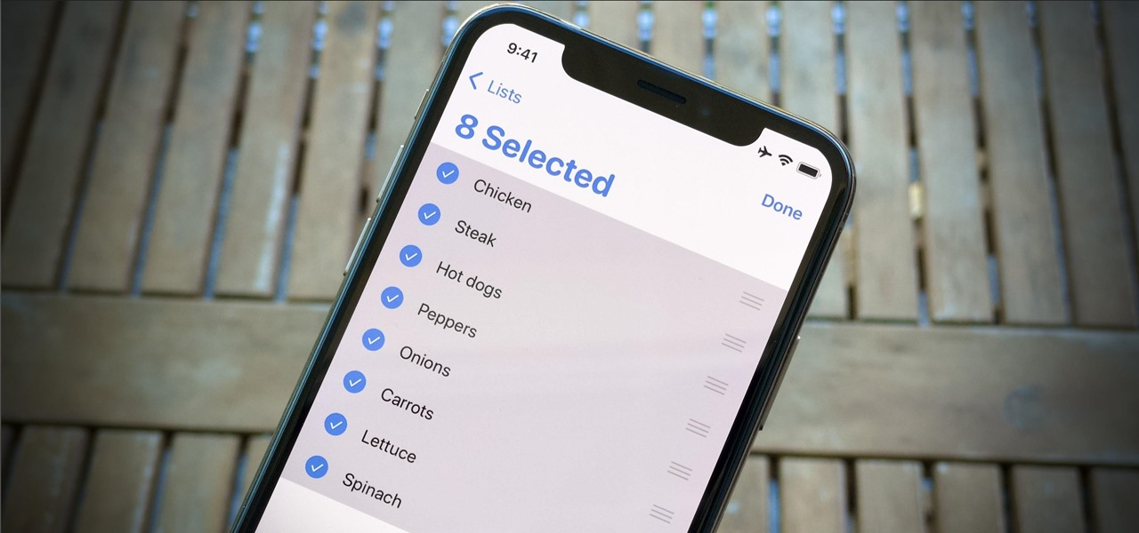 Edit Multiple iOS Reminders at Once