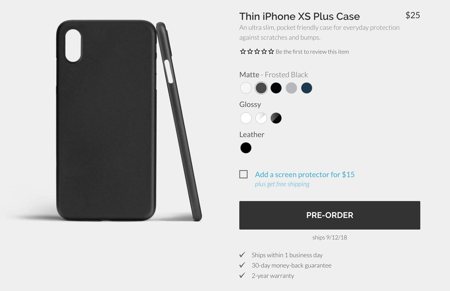 Case Makers Are Ready for the New iPhone XR, XS & XS Max with Buy & Preorder Pages Live Right Now