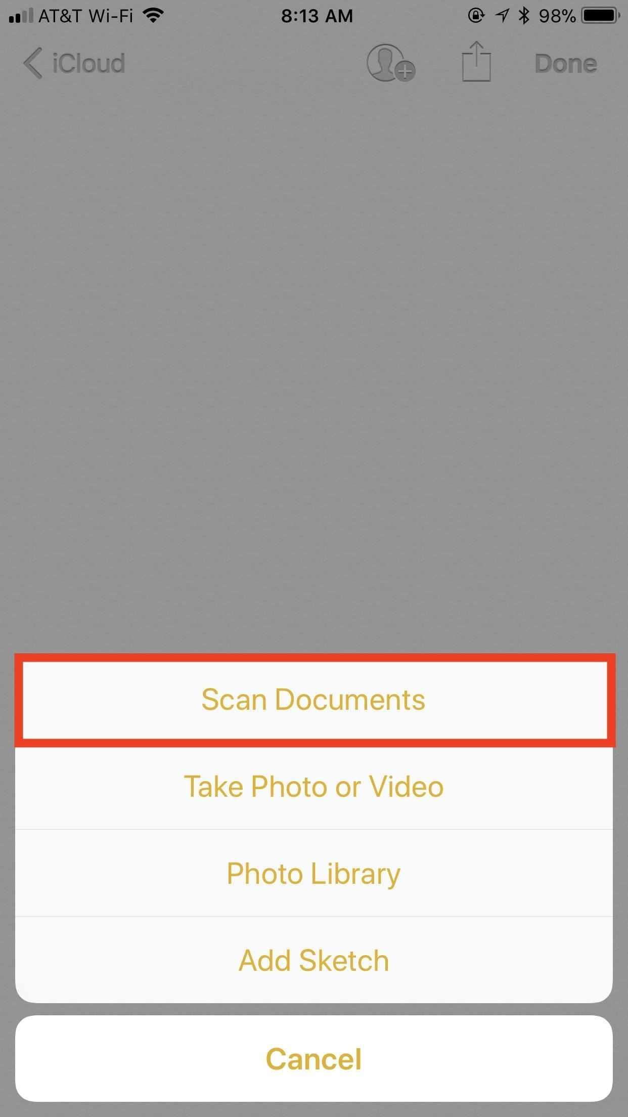 Notes 101: How to Scan, Edit & Share Documents Right Inside