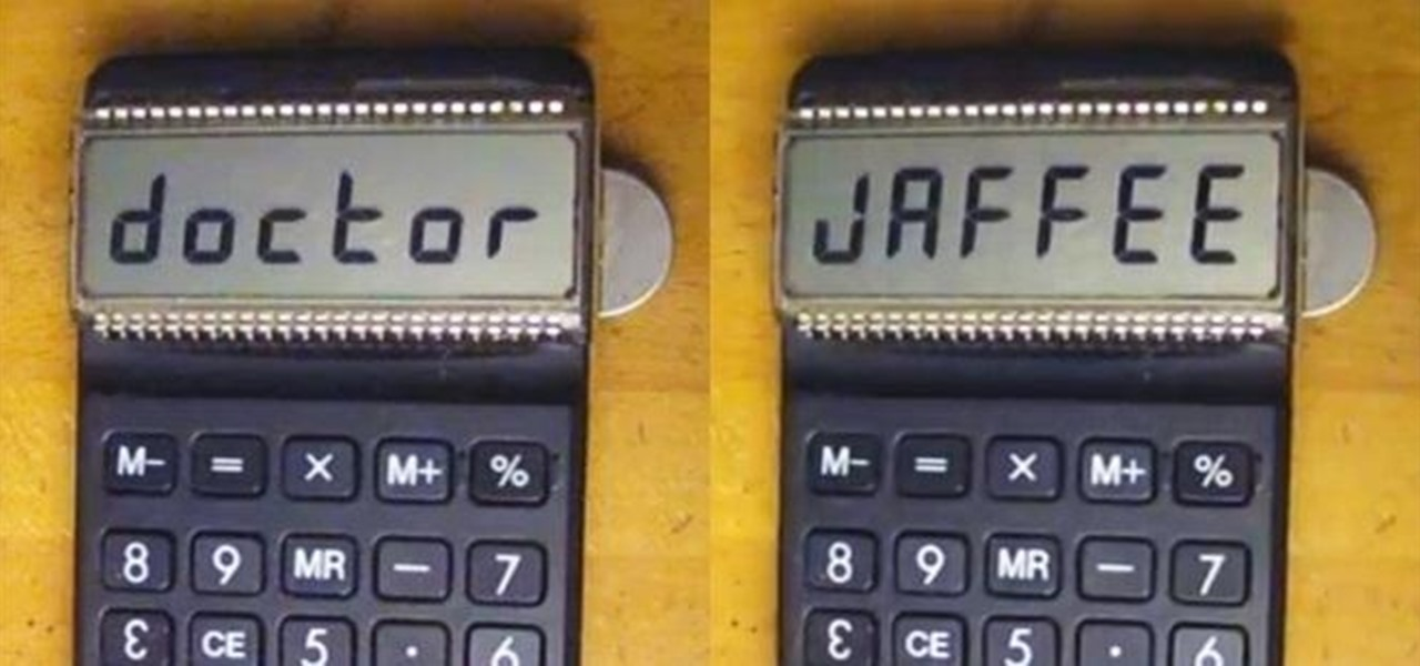 Mod a Calculator into a Custom Name Badge for Your Desk