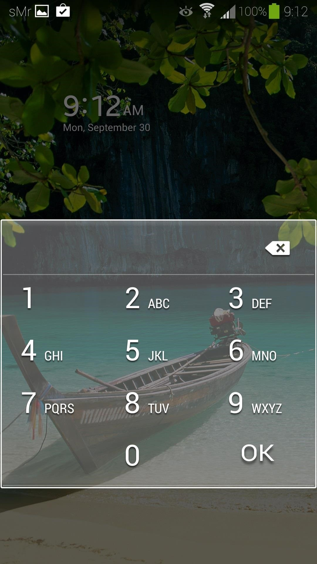 How to Retain Swipe to Unlock Effects with Lock Screen Security on a Samsung Galaxy S4