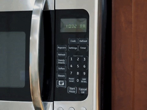 These Hidden Key Codes Will Lock Your Microwave's Controls So Nobody Can Use It