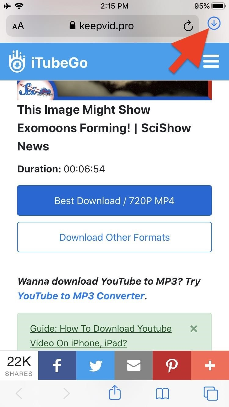 How to Use Safari's New Downloads Manager in iOS 13 « iOS