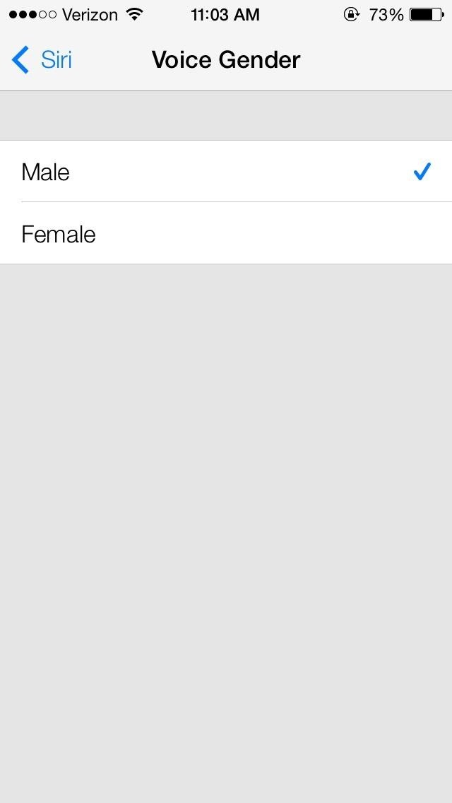 How to Change Siri's Voice from Female to Male in iOS 7 on Your iPhone