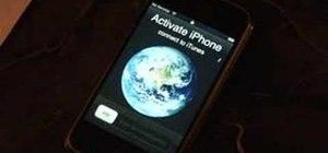 Jailbreak and unlock a 1.1.1 iPhone