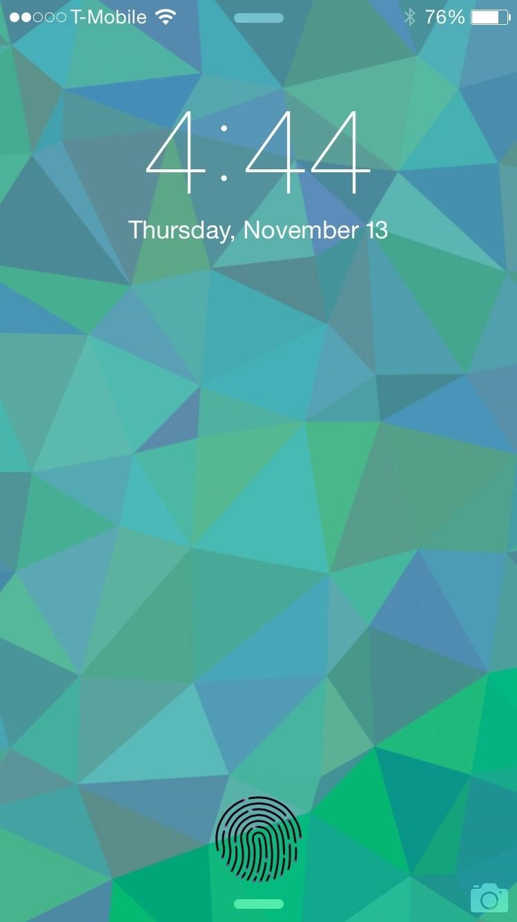 Add the Apple Pay Animation to Your iPhone's Lock Screen for Touch ID