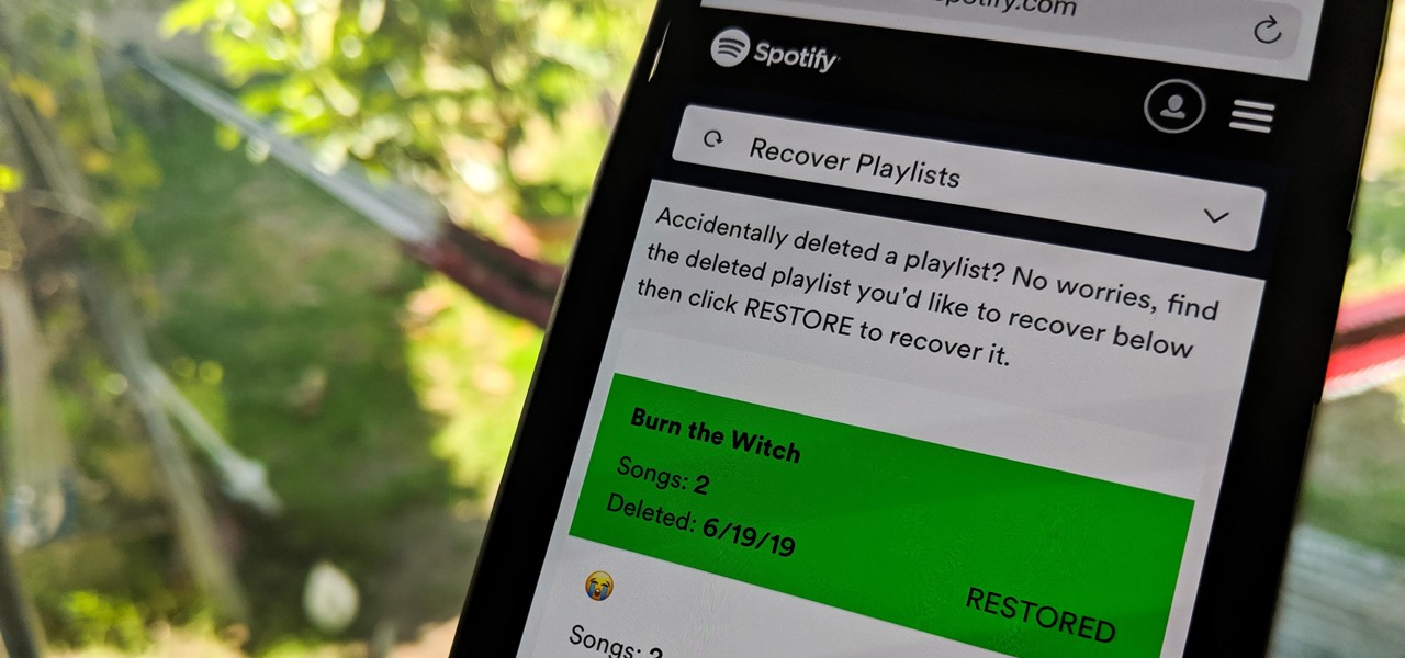 Recover Deleted Spotify Playlists on Your Phone — No Matter When You Removed Them