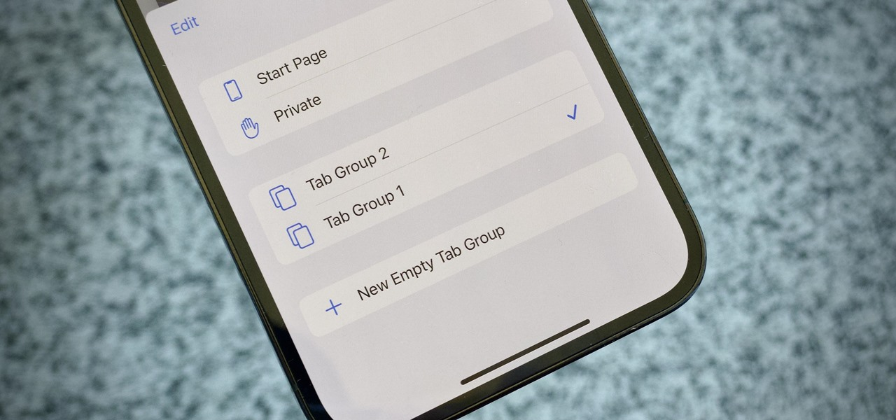 Group Your Safari Tabs into Collections in iOS 15