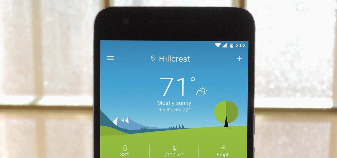 Get Sony's Xperia Weather App on Any Android Device