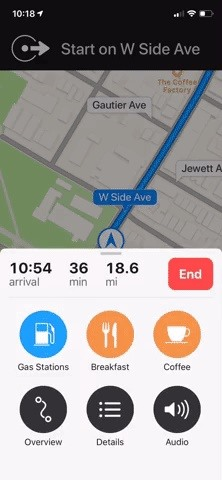 Customizing navigation instructions in Apple Maps for clearer spoken instructions