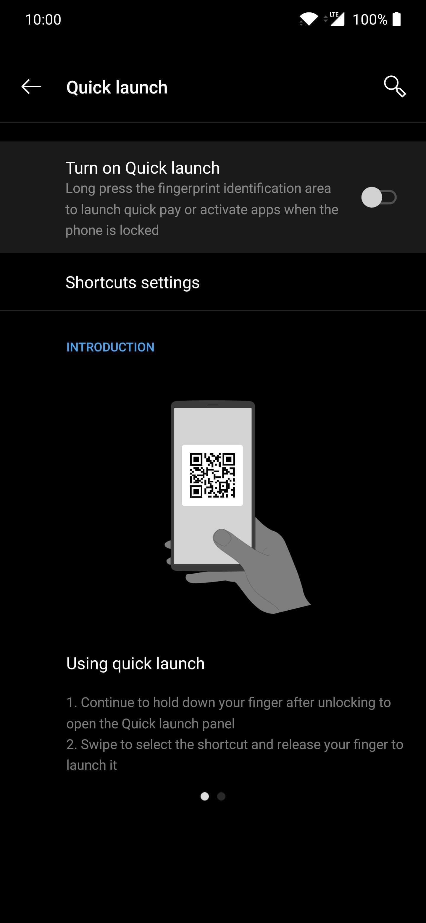 How to Add Quick App Shortcuts to the in-Display Fingerprint Scanner on Your OnePlus
