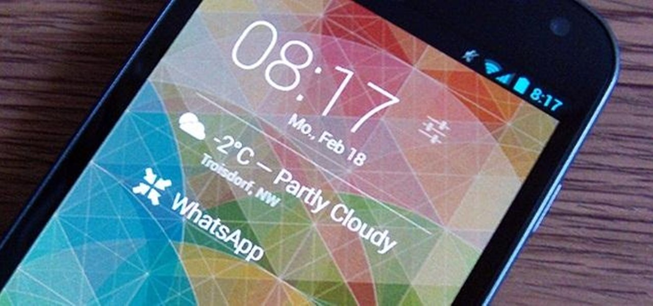 Add Custom Lock Screen Widgets to Your Nexus 7, Samsung Galaxy S3, & Other Android 4.2 Devices