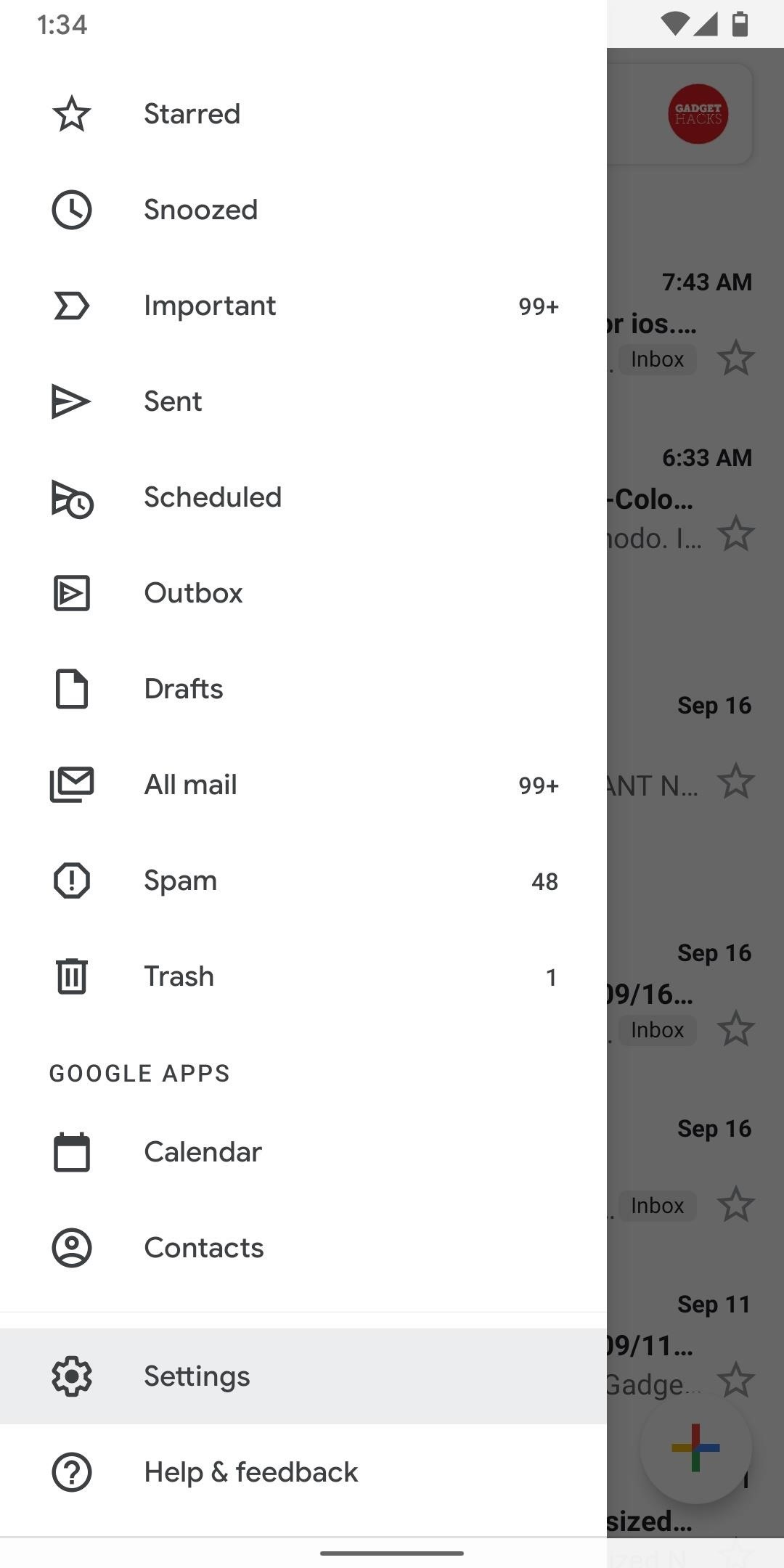 How to Fit More Emails on Your Screen at One Time in Gmail