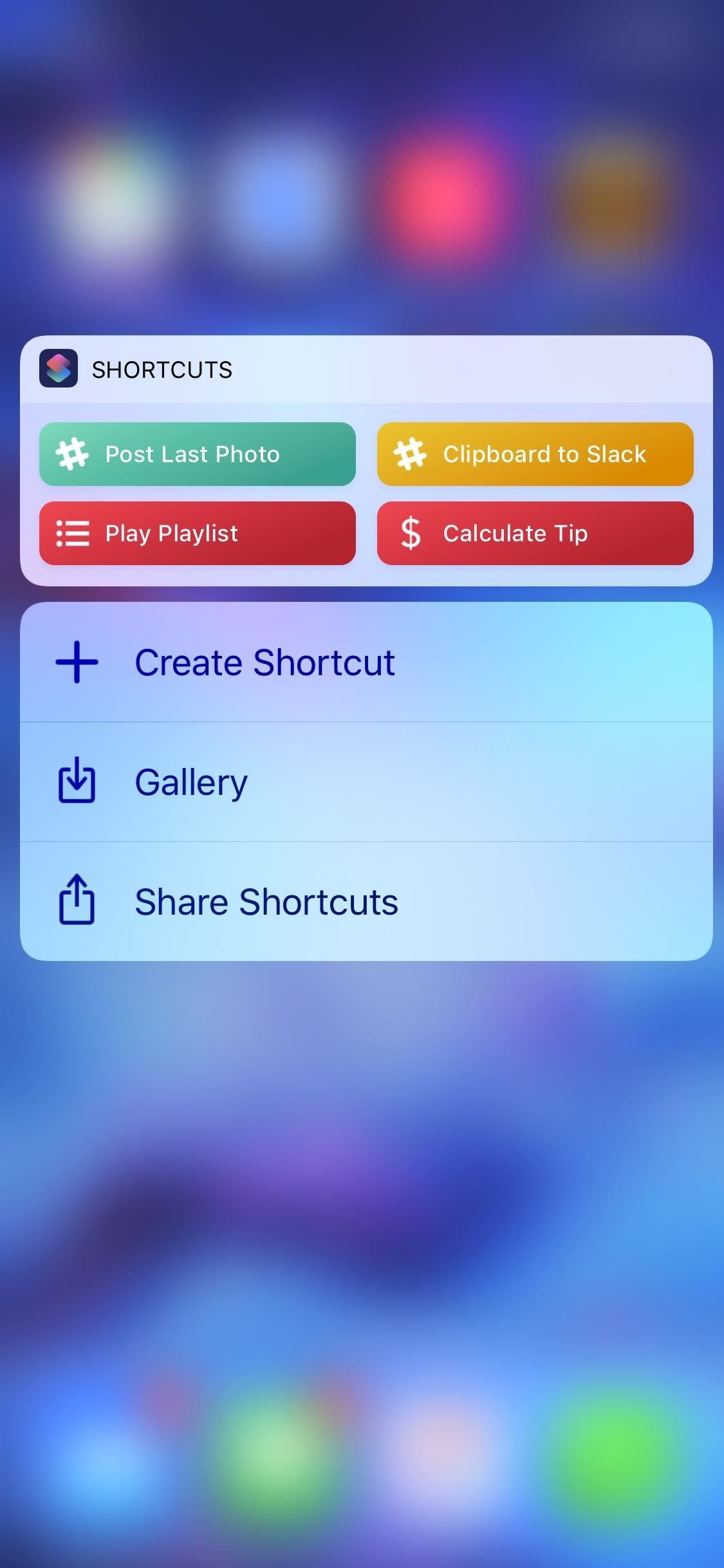 "Alternatively, you can add a home screen shortcut to the calculator in the app. Head back to the ""Calculate Tip"" workflow from the ""Library"" tab directly in ..."