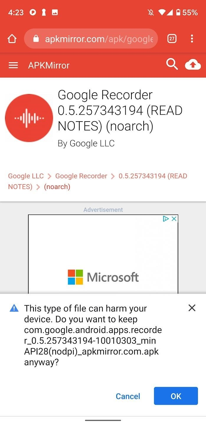 Get the Pixel 4's New Voice Recorder App on Any Phone