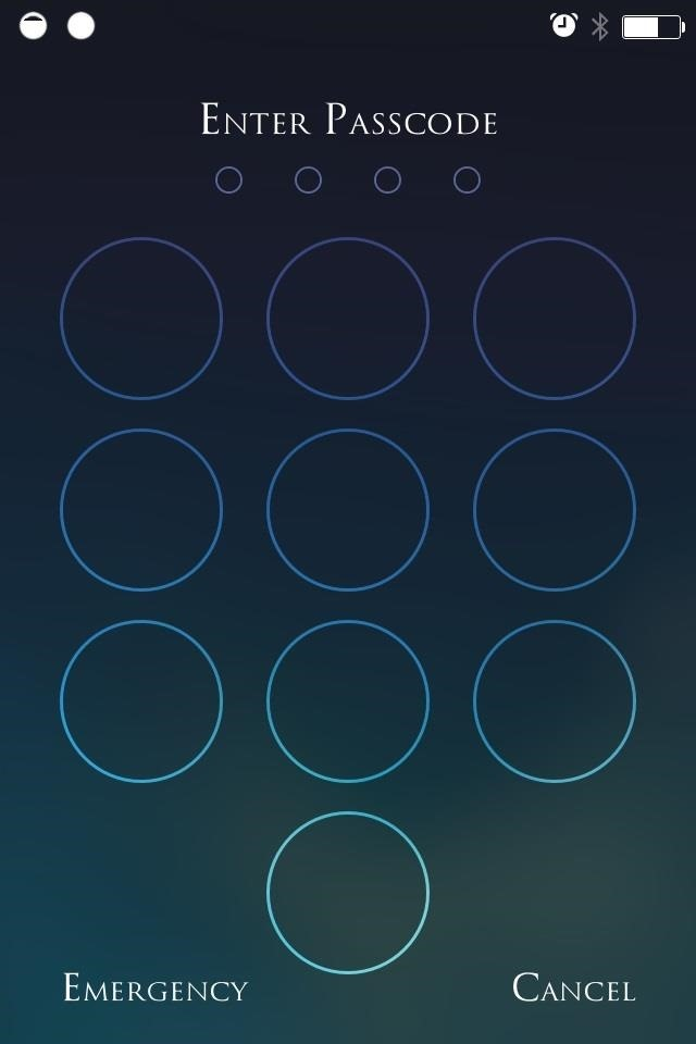 Beef Up Your iPhone's Passcode Security with a Blank Keypad on Your iOS 7 Lock Screen
