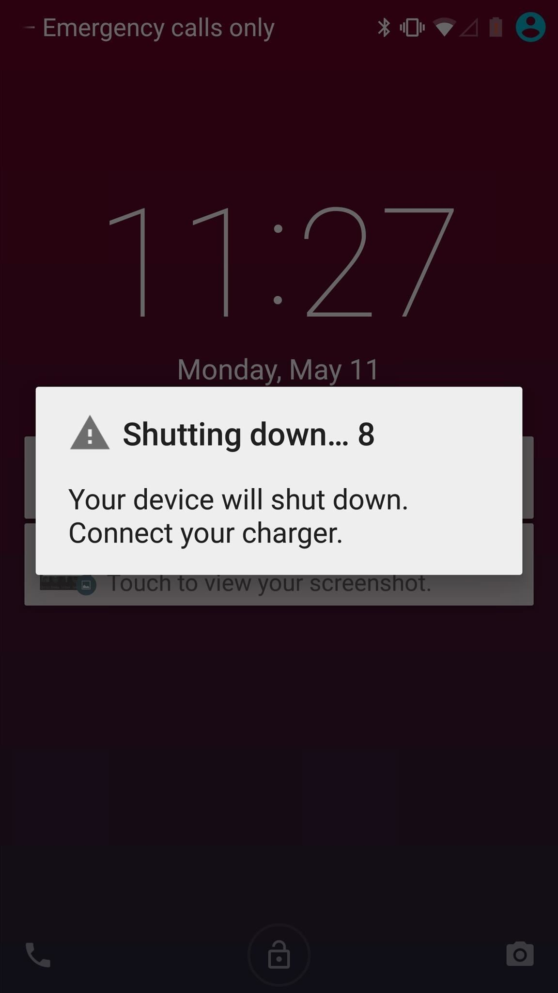 See How Long Your Android Has Before Automatically Shutting Down from a Low Battery
