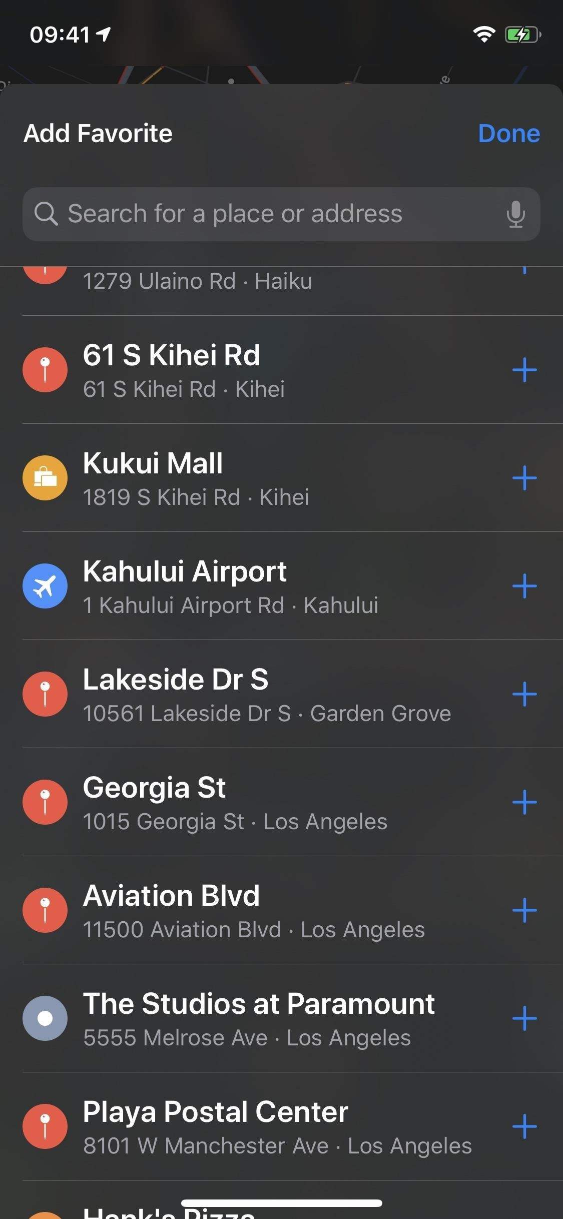 How to Add, Rearrange, Edit & Delete Favorite Locations in Apple Maps in iOS 13