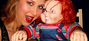 Insanely Creepy Mini Electric Chair Tortures Chucky