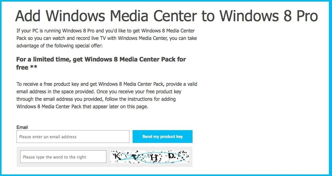 How to Get Windows Media Center for Free on Windows 8 Pro