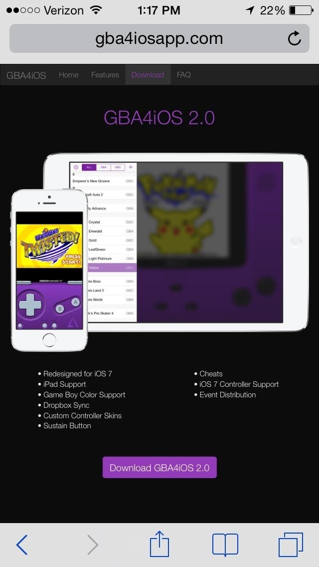 How to Play Game Boy Advance & Game Boy Color Games on Your iPad or iPhone—No Jailbreaking!