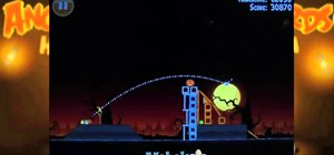 Beat level 2-13 of Angry Birds Halloween HD for the iPad