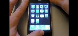 Turn off or restart an Apple iPhone or iPod Touch