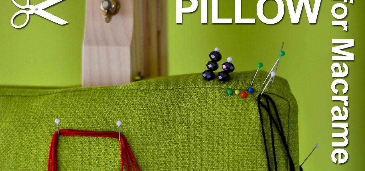 My Pillow for Macrame - Unboxing (What Is Inside?)