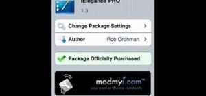 Use Cydia to download apps & themes onto a jailbroken iPhone 4 or iPod Touch