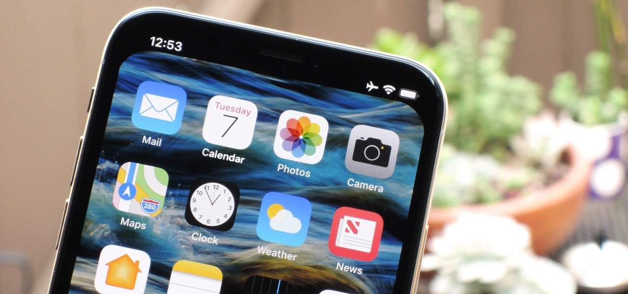 These Iphone X Wallpapers Can Completely Hide The Notch Ios