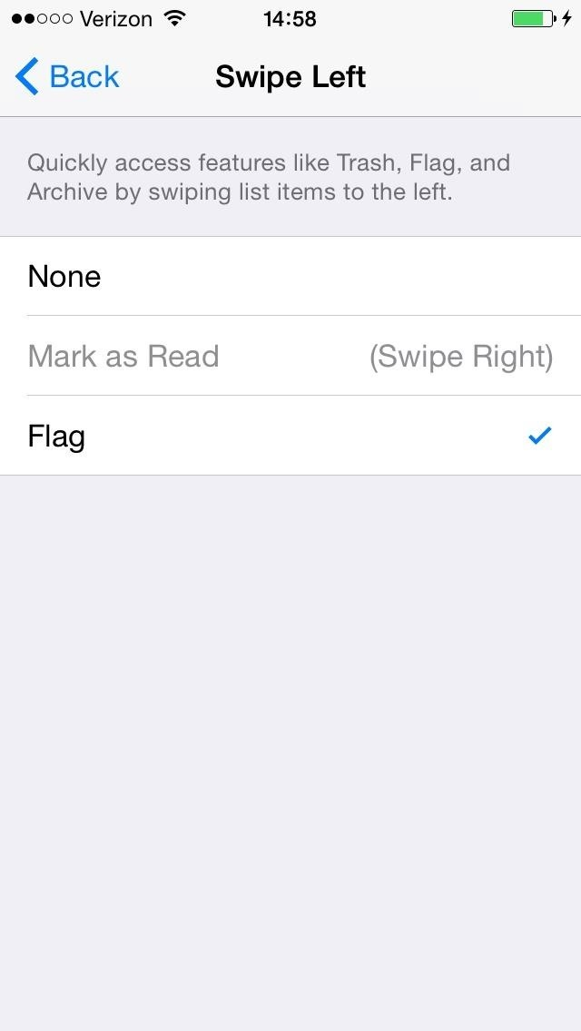 The Good & Bad About iOS 8's New Swipe Gestures in Mail for iPhone