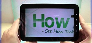 Record videos using the Samsung Galaxy Tab's built-in camera