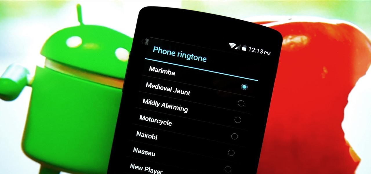Get iPhone Ringtones, Notifications, & System Sounds on Your Nexus 5